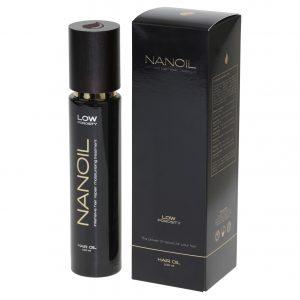 Olejek Nanoil do włosów niskoporowatych